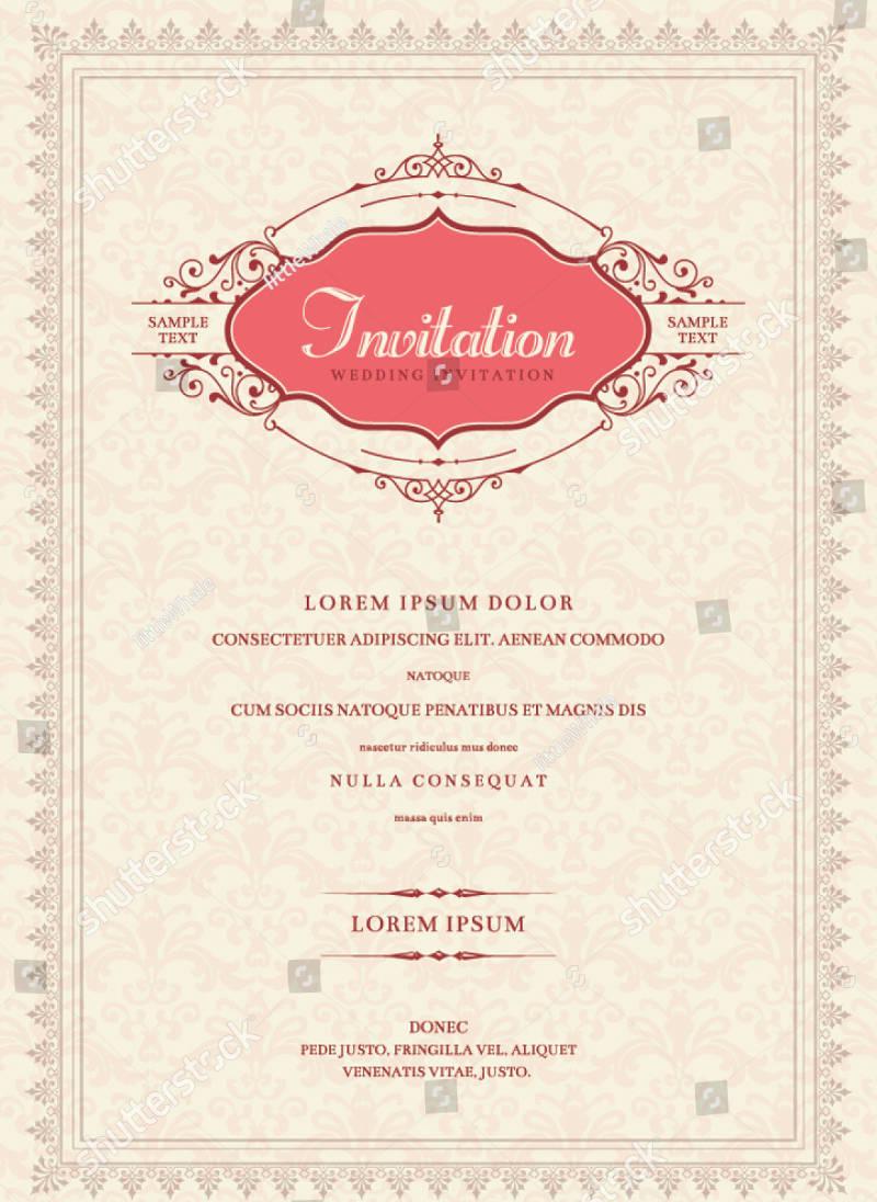 modern invitation card design