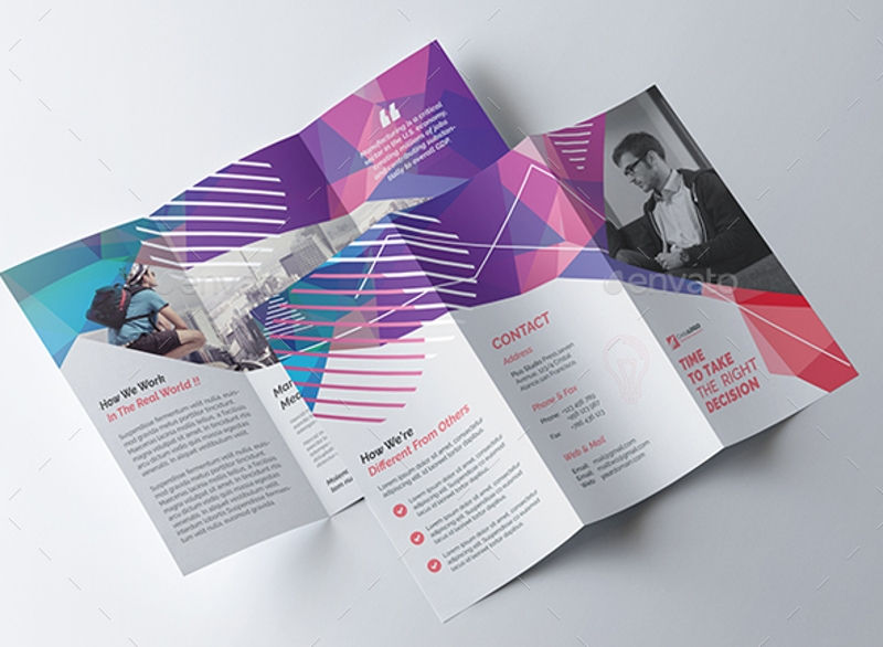 multipurpose business agency brochure