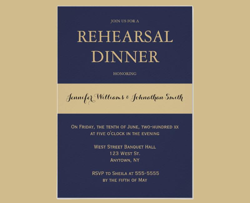 navy gold modern rehearsal dinner invitation1