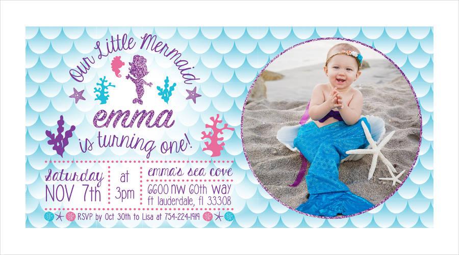 personalized birthday party invitation design