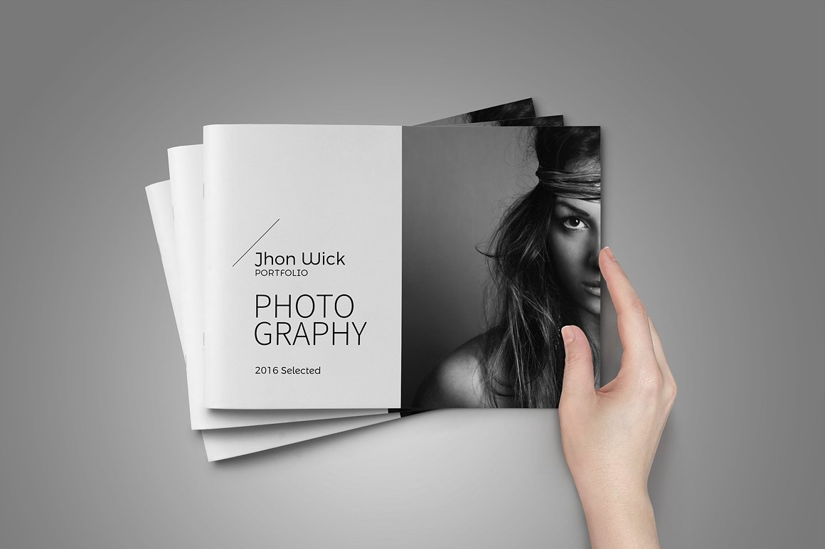 10+ Photography Portfolio Examples - Editable PSD, InDesign