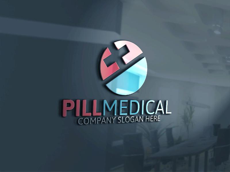 pill medical logo