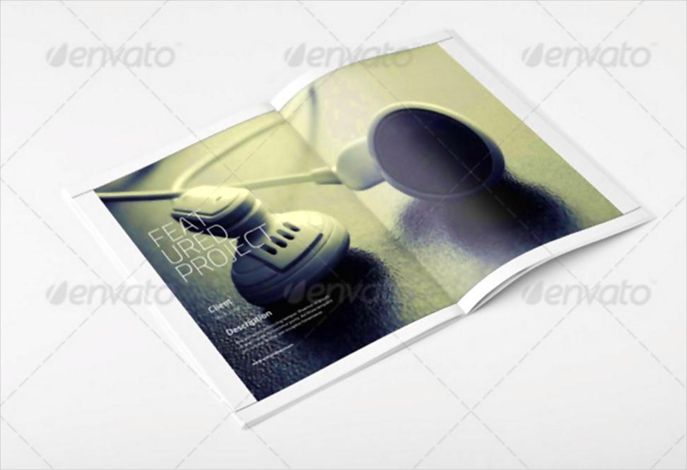 portfolio catalog brochure