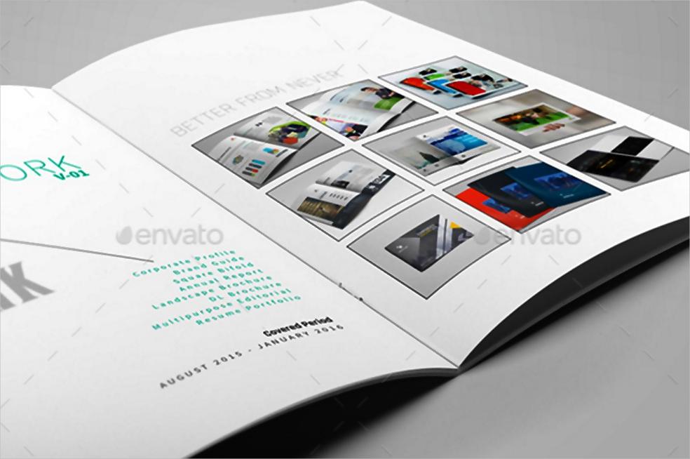Portfolio Layout Sample