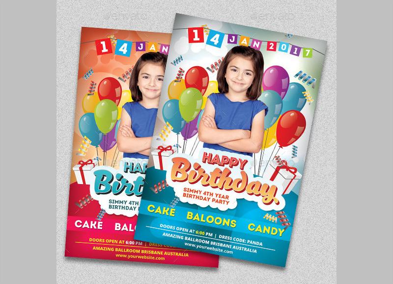 preschool party invitation