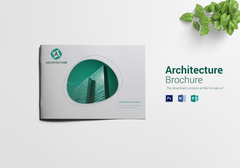 prime architecture brochure template