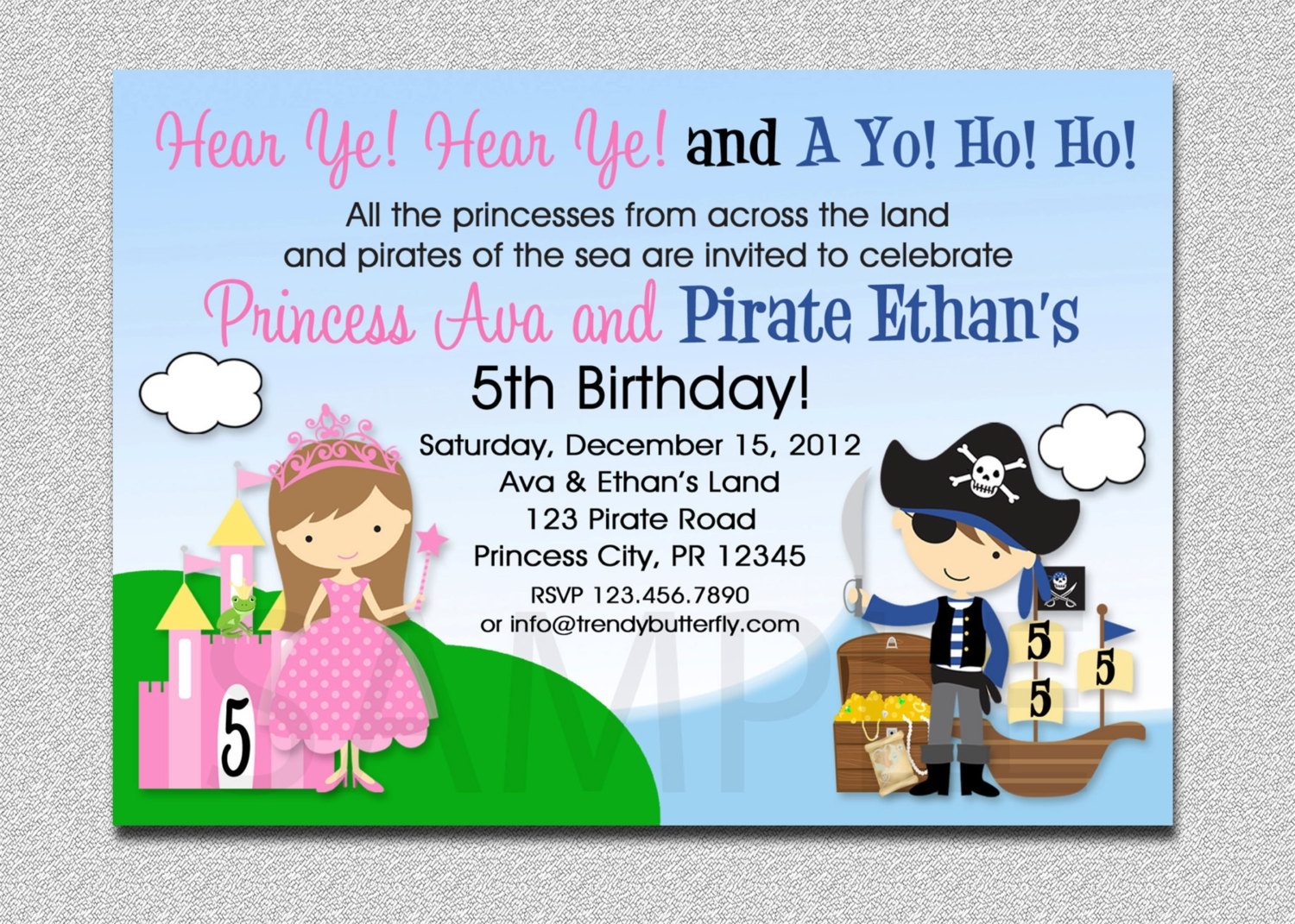 12+ Pirate Party Invitation Designs and Examples – PSD, AI