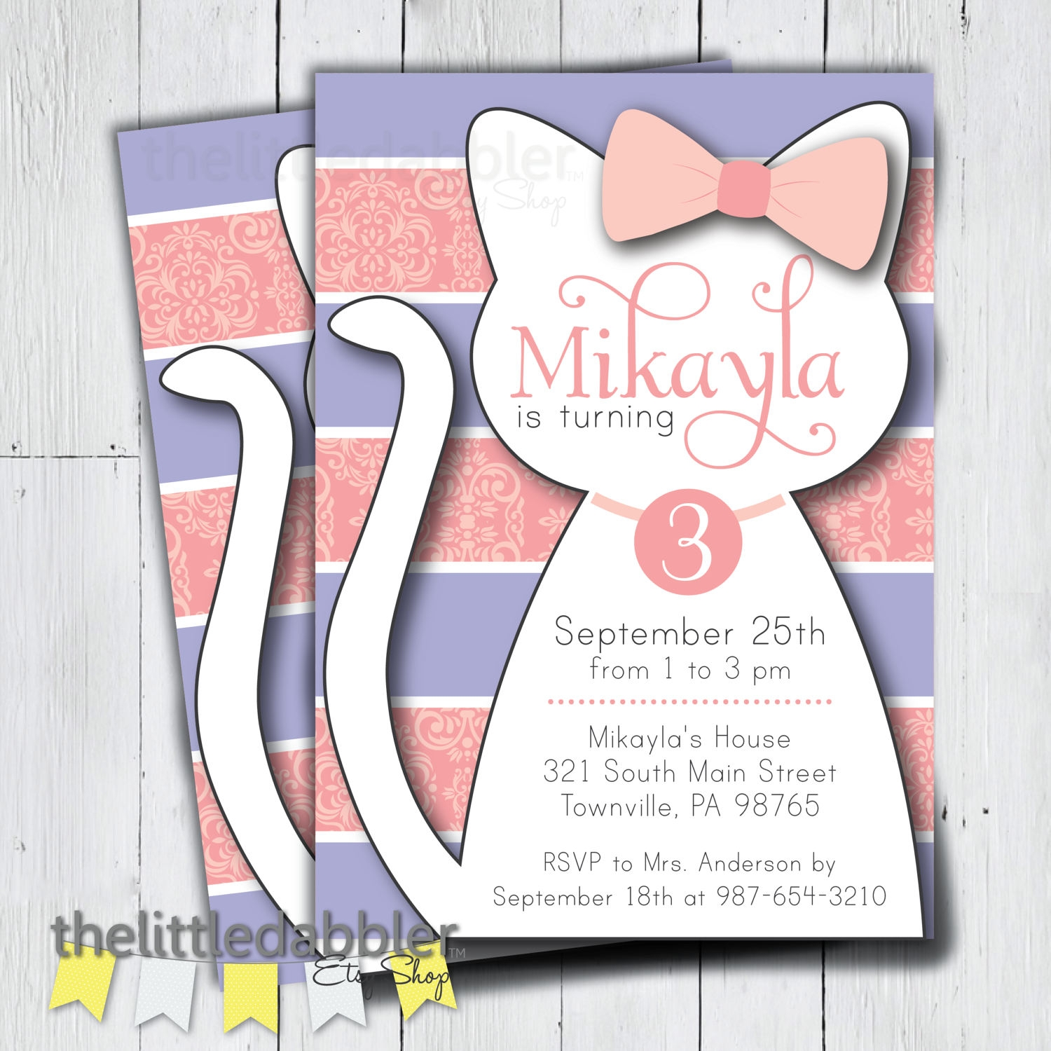 12+ Kitty Party Invitation Designs and Examples - PSD, AI