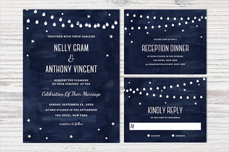 printable outdoor wedding invitation