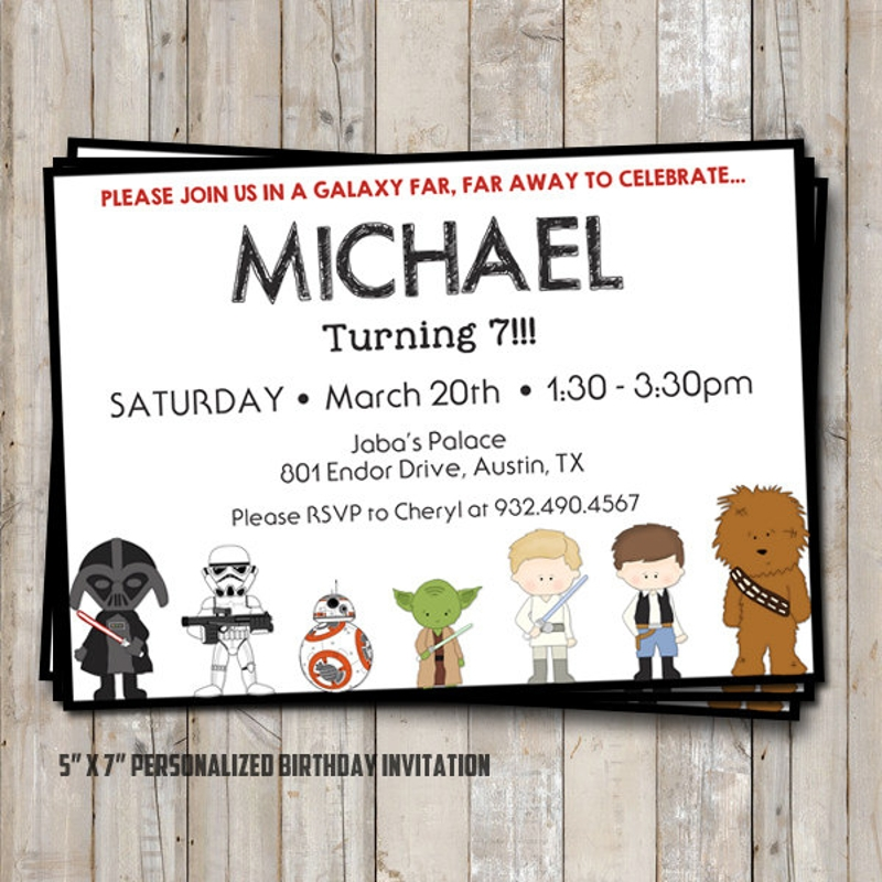 printable star wars invitation