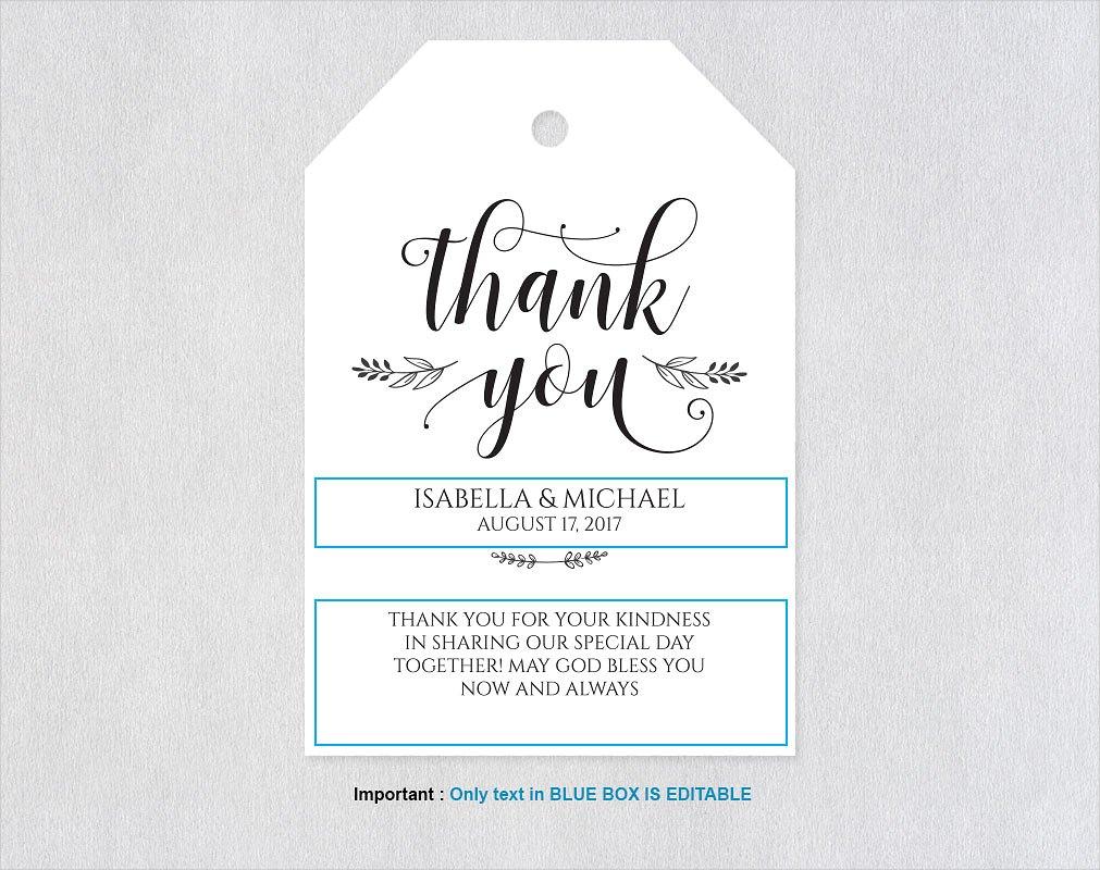 printable thank you invitation