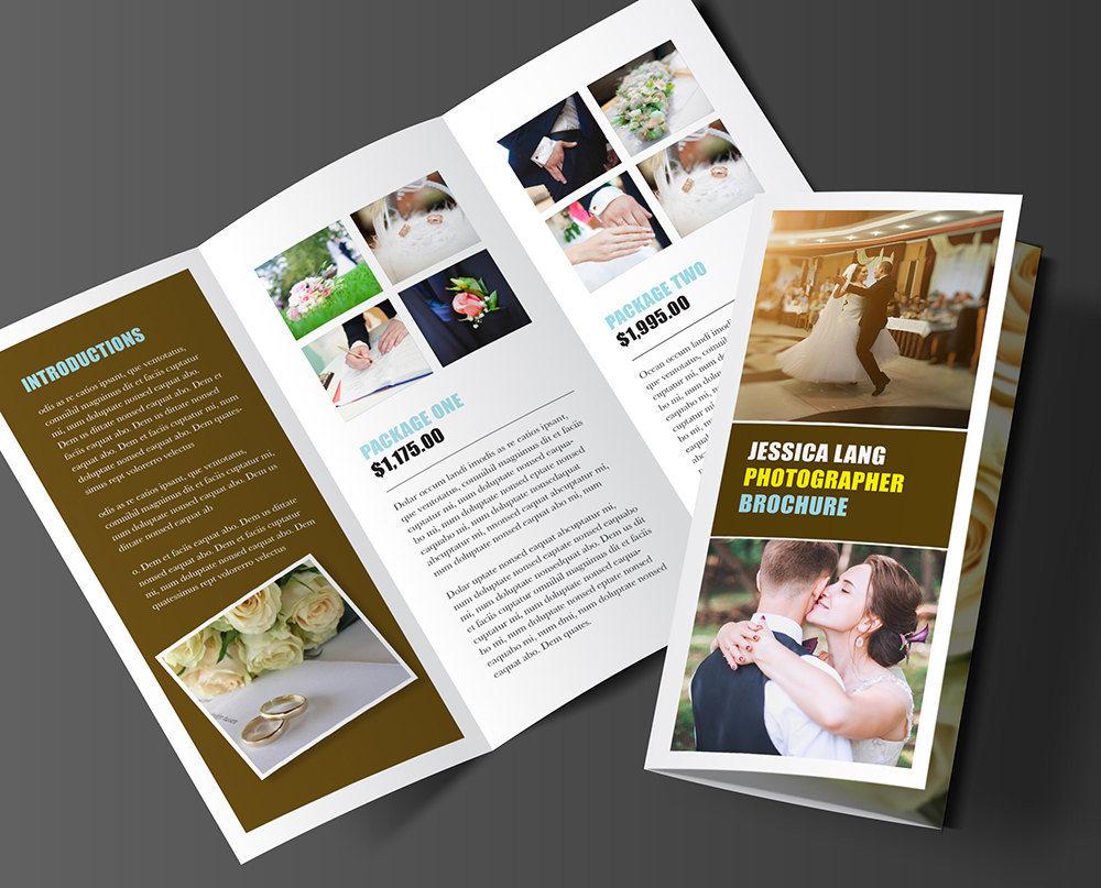 printable tri fold brochure