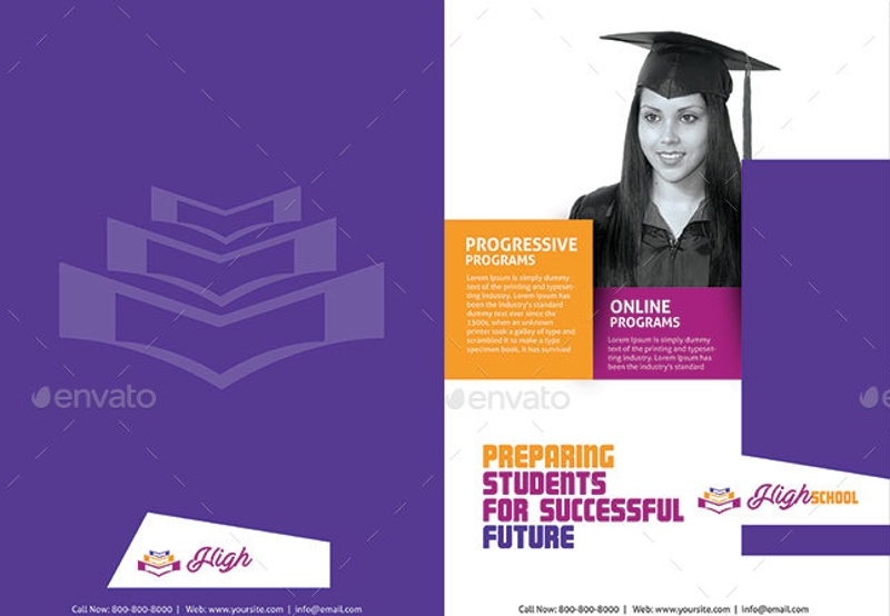 professional education brochure