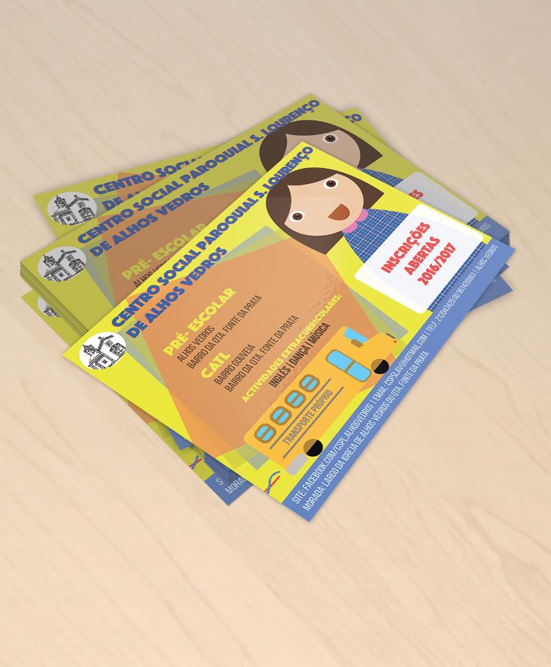 professional kindergarten brochure