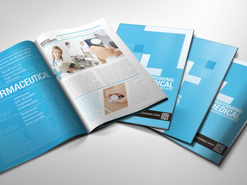 professional medical corporate brochure