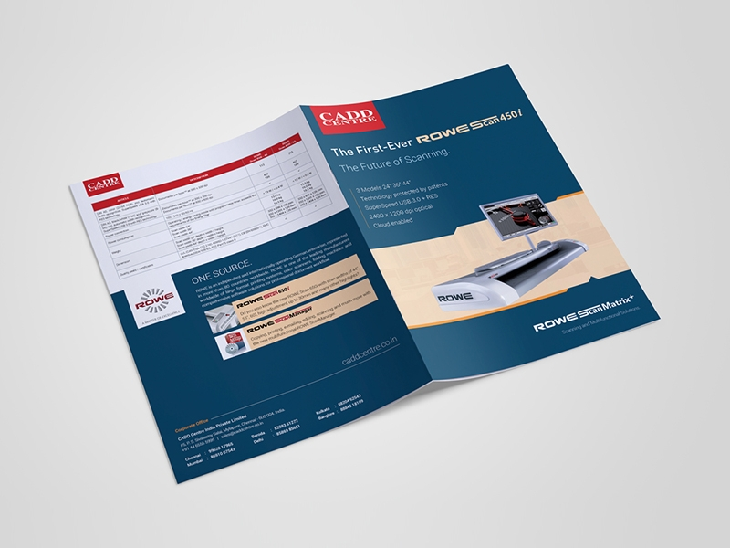 professional product brochure