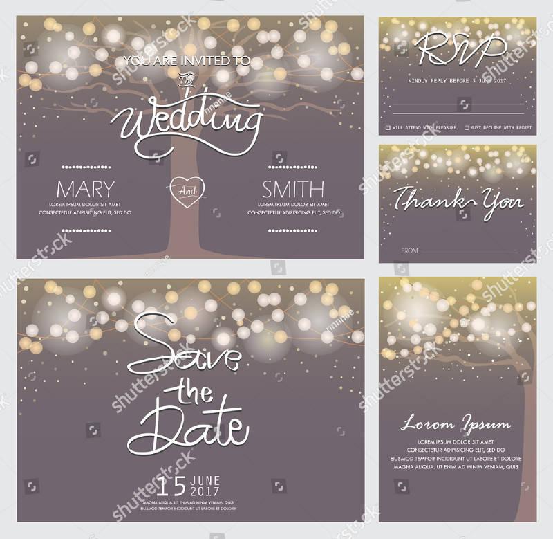 rsvp invitation design template