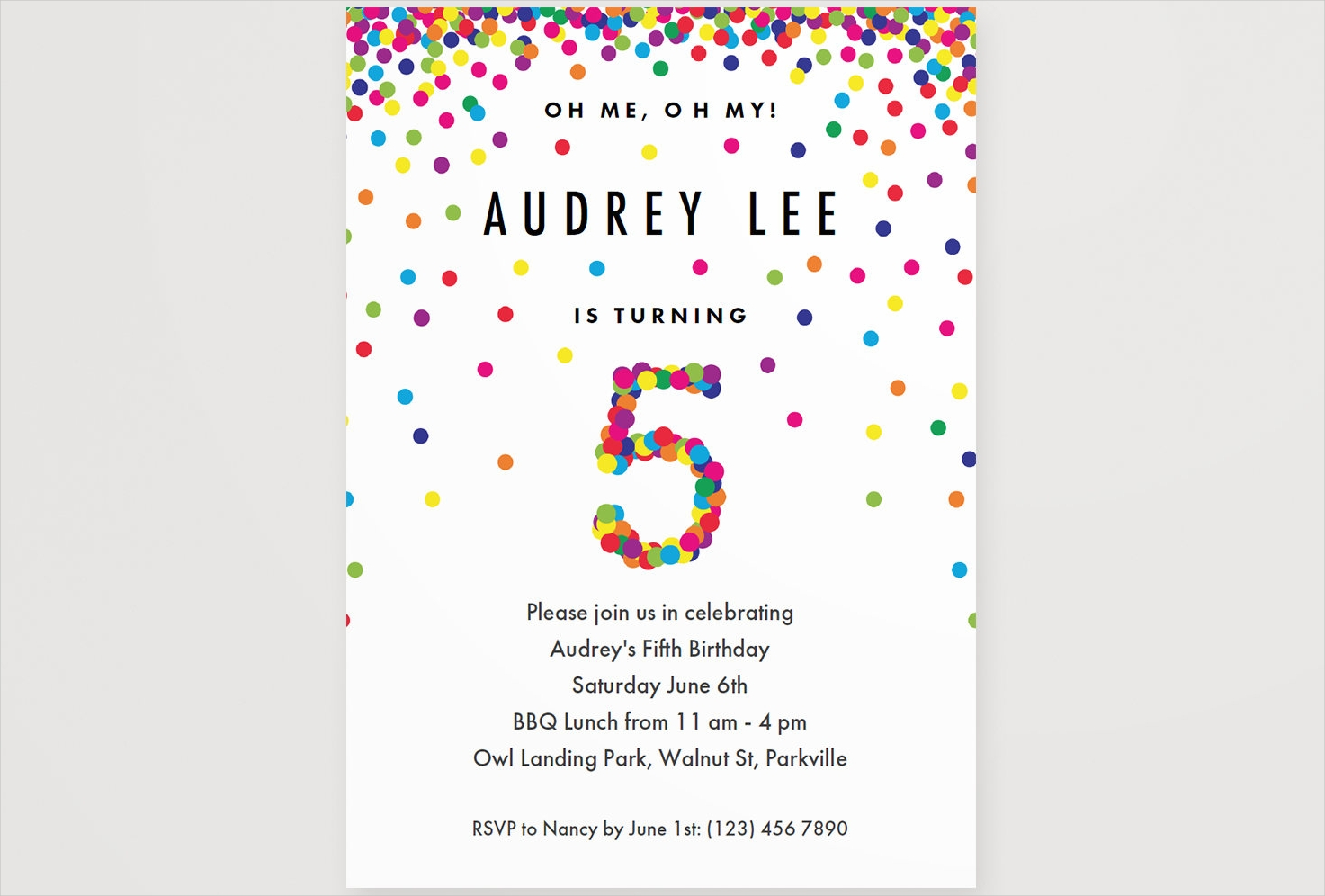 15+ Boys Party Invitation Designs and Examples - PSD, AI