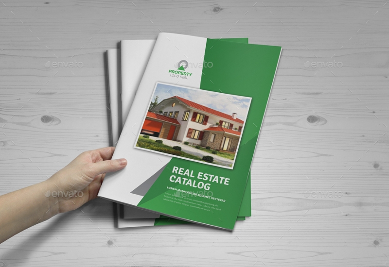 real estate agency brochure catalog