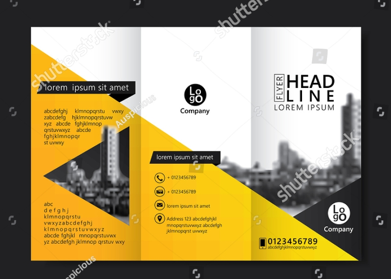 real estate agency brochure design