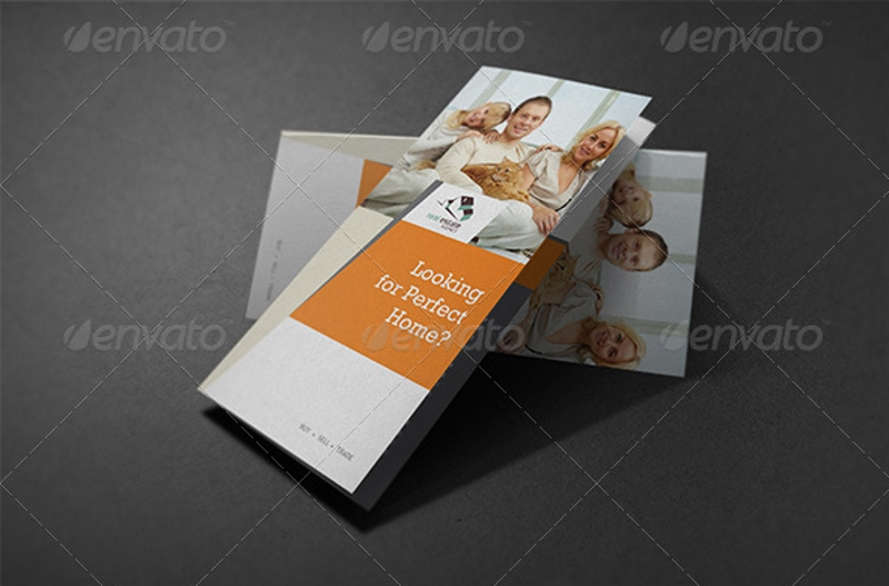 realtor real estate agent brochure template