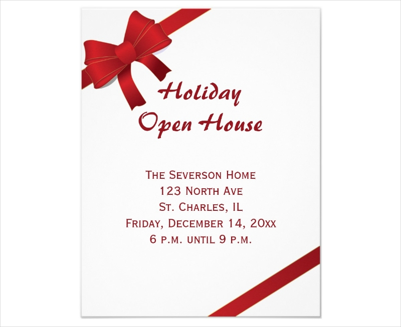 12+ Open House Invitation Designs and Examples – PSD, AI