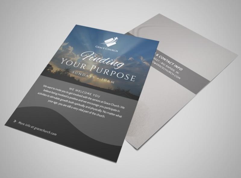 religious church invitation