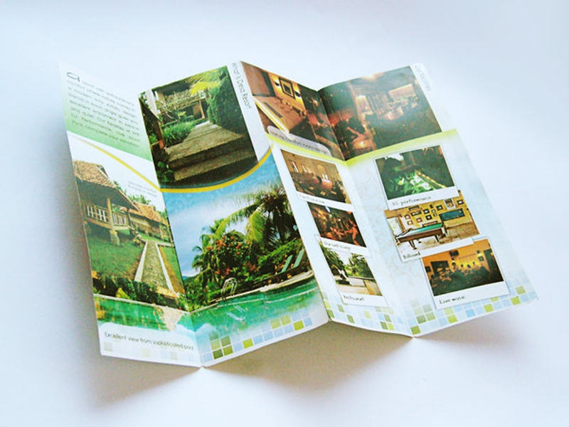 resort brochure design