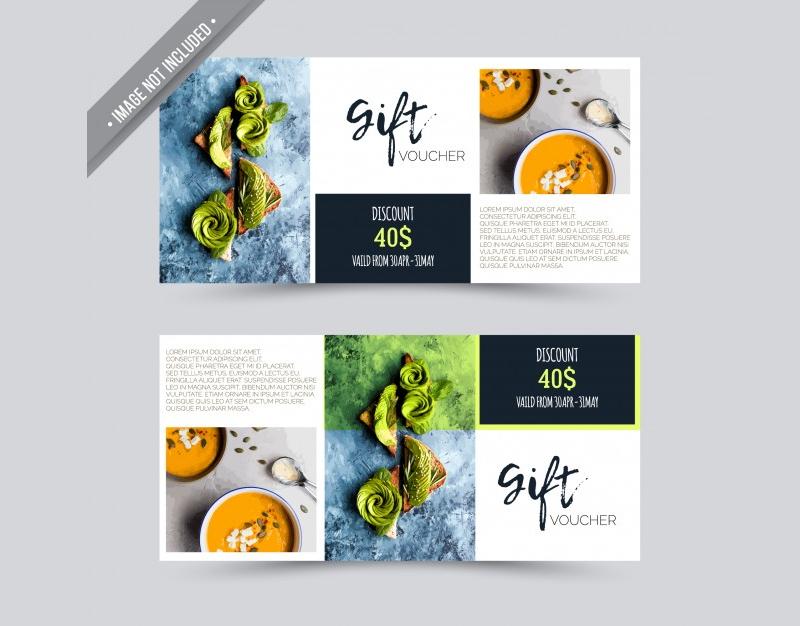 restaurant gift vochure