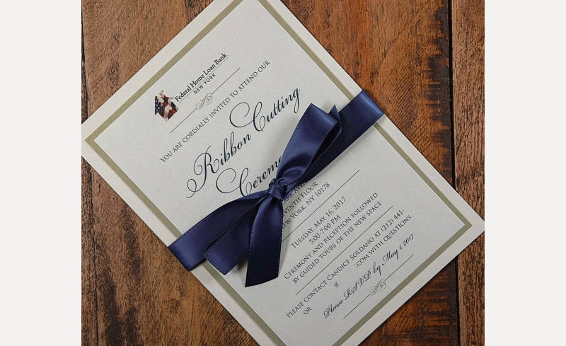 ribbon cutting ceremony invitation