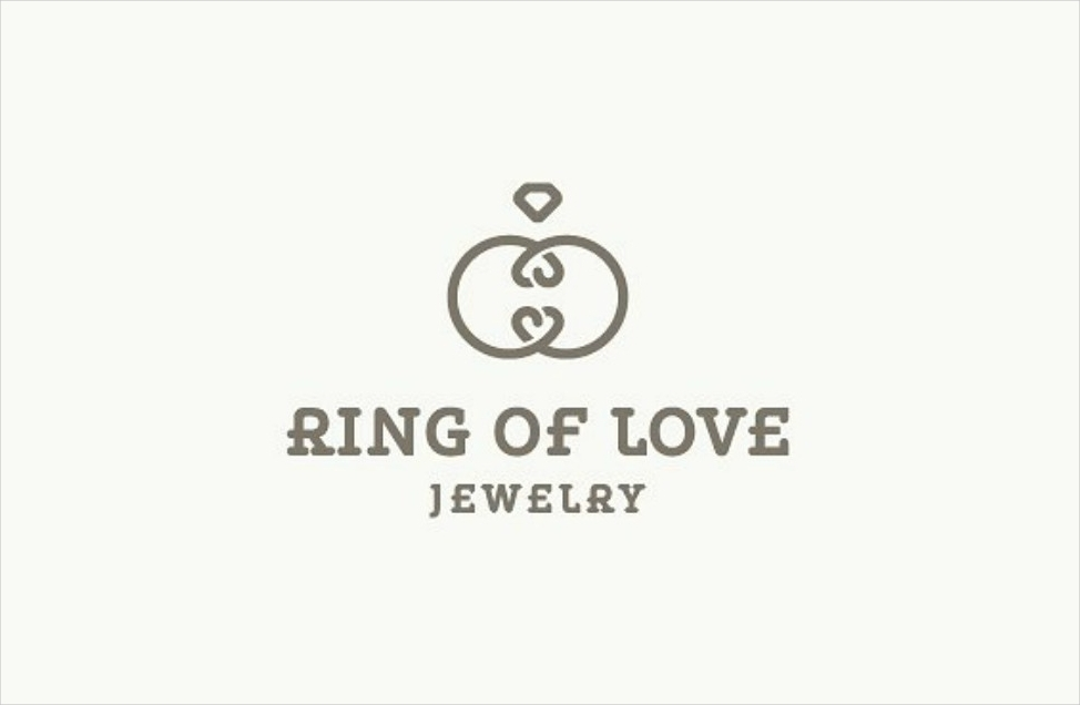 ring jewelry logo