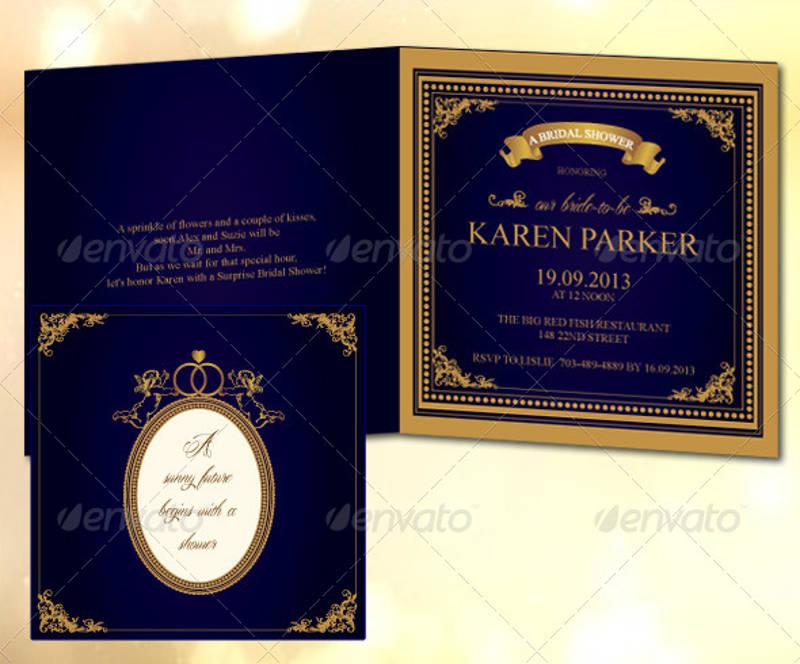 romantic bridal shower invitation1