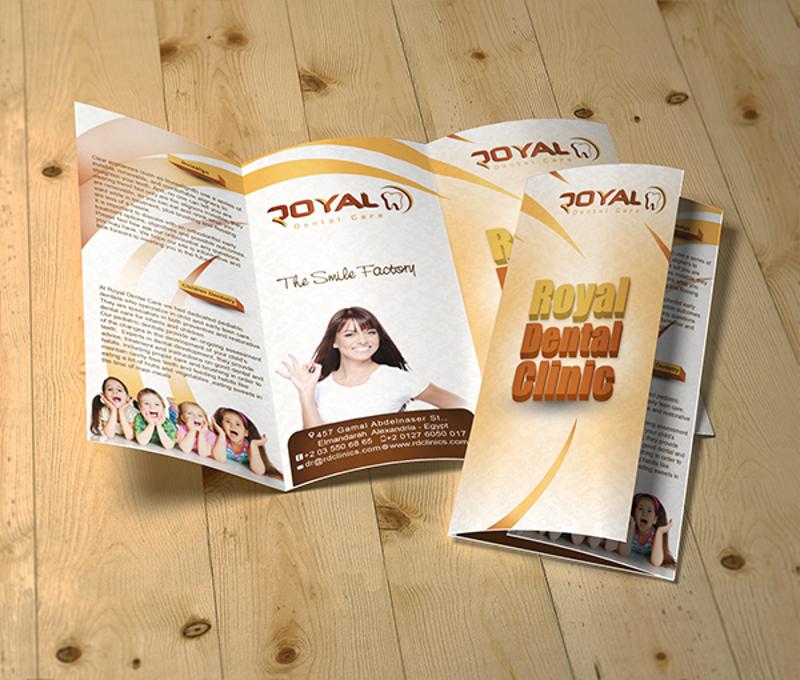 royal dental care brochure