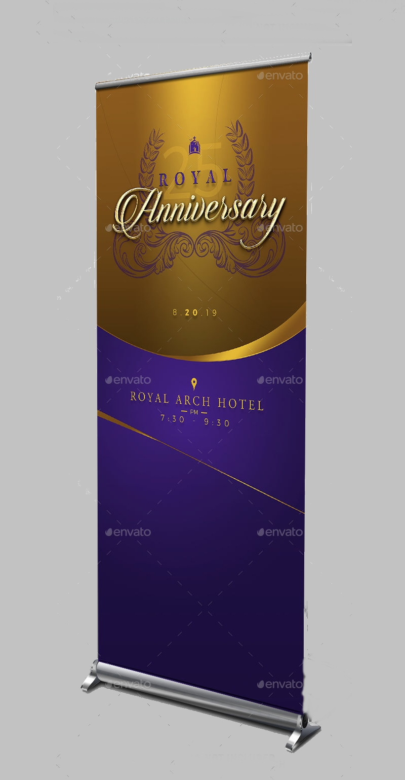 royal gold anniversary banner1