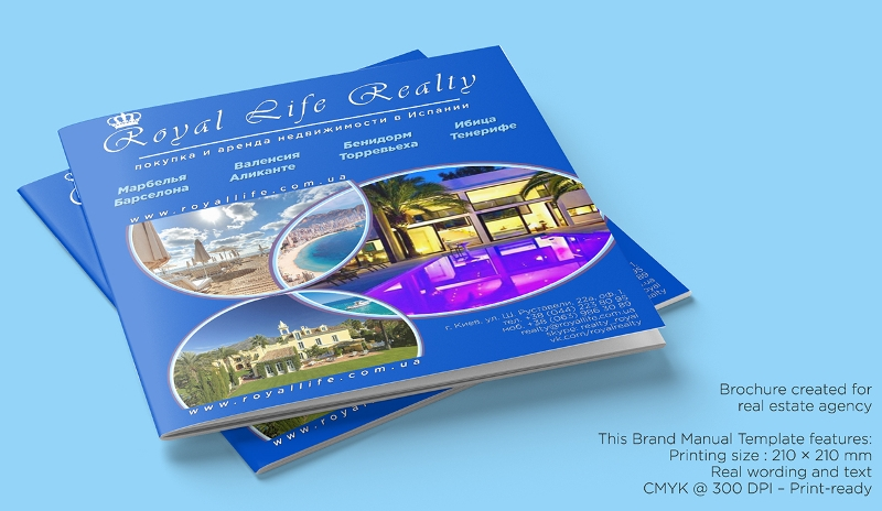royal real estate agency brochure