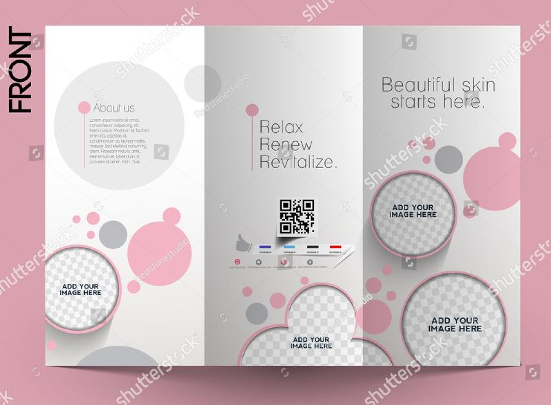 salon brochure design