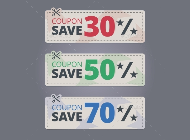 simple discount coupons