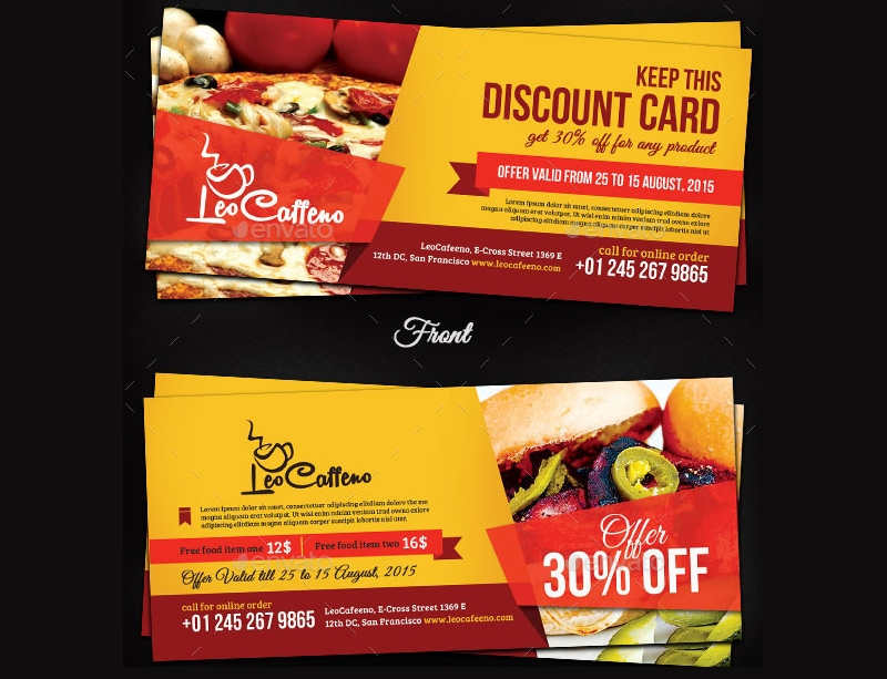 simple food coupon