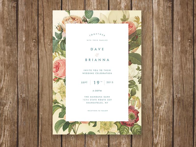 simple wedding invitation1