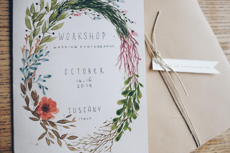 simple workshop invitation