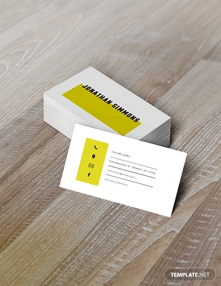 simple business card1