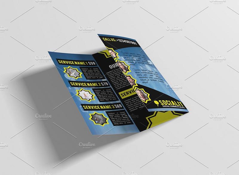 social media brochure design