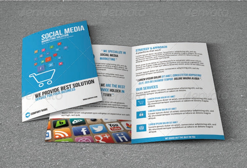 social media marketing brochure
