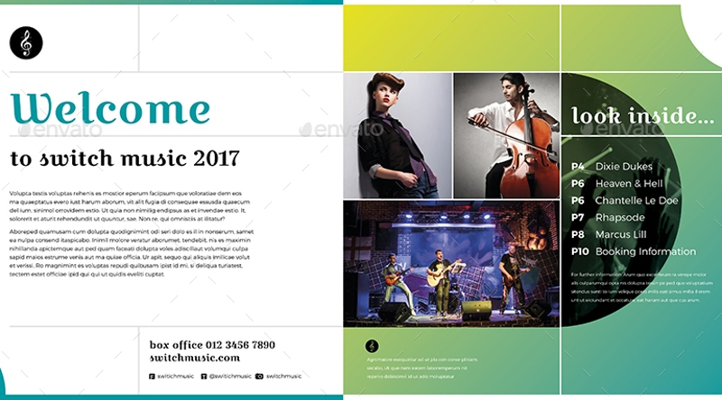 square event brochure