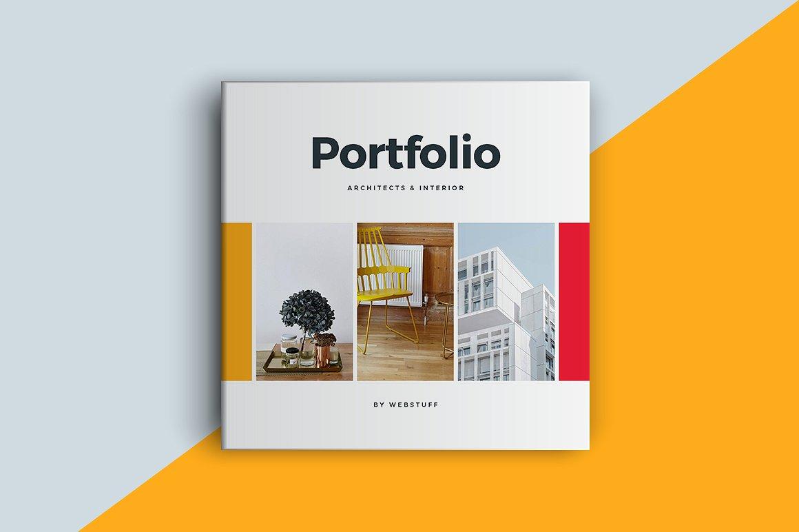square portfolio brochure example