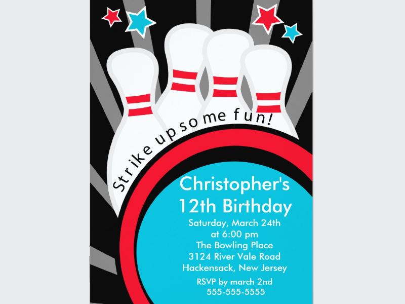 strike up fun bowling birthday party invitation1