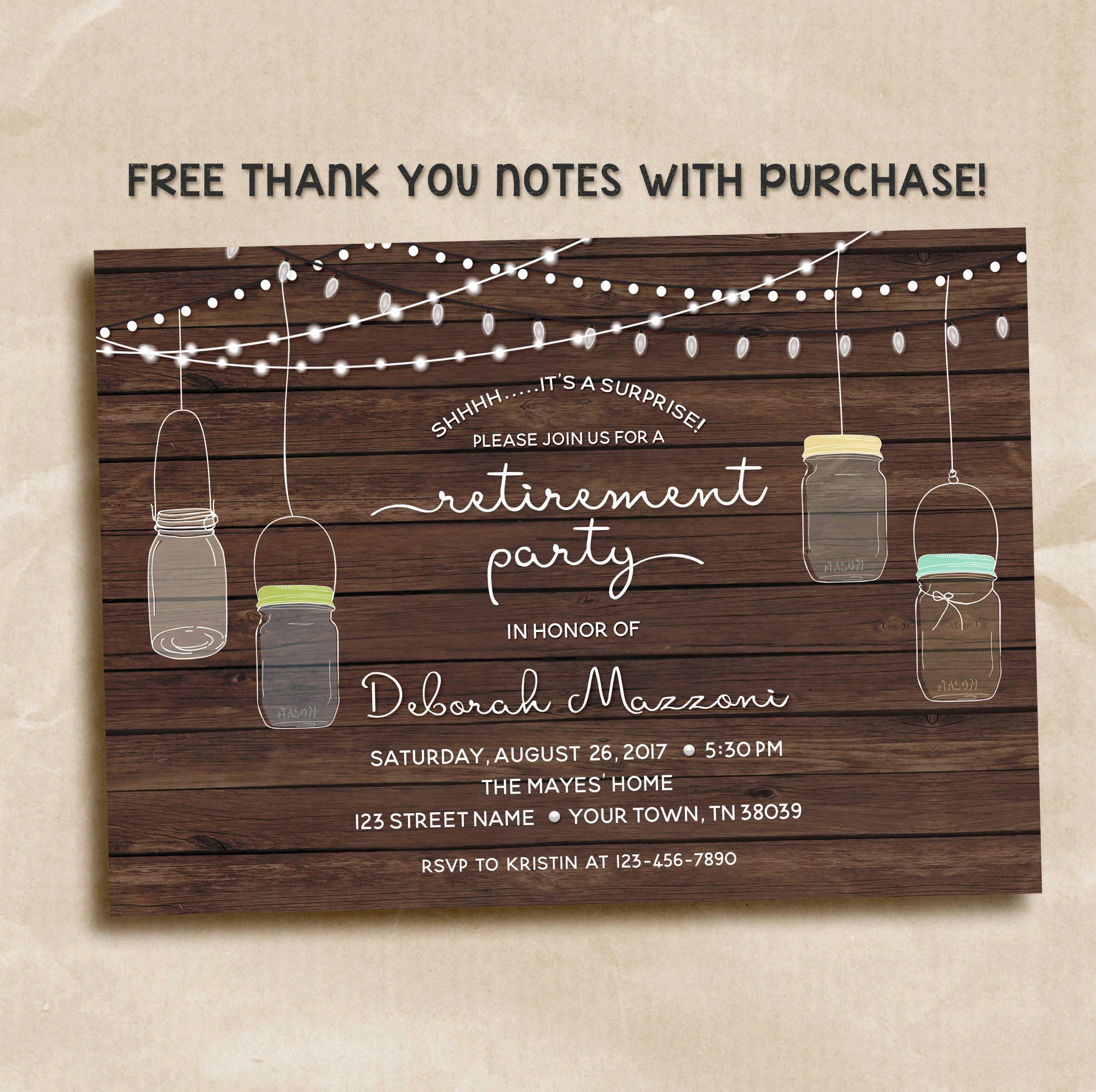 surprise retirement party invitation1