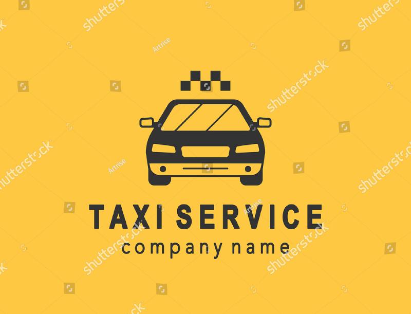 taxi service logo design