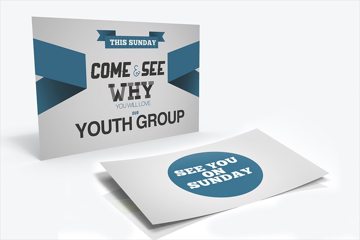 teen class church invitation