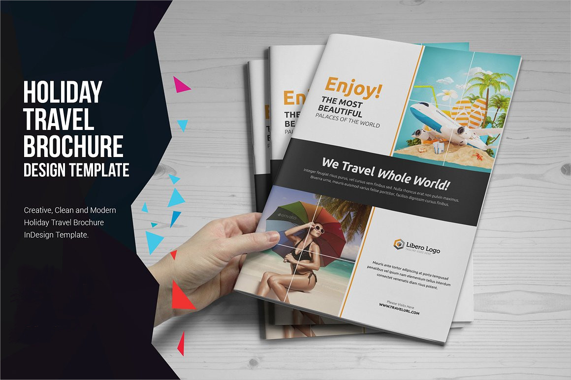 tourism travel brochure design